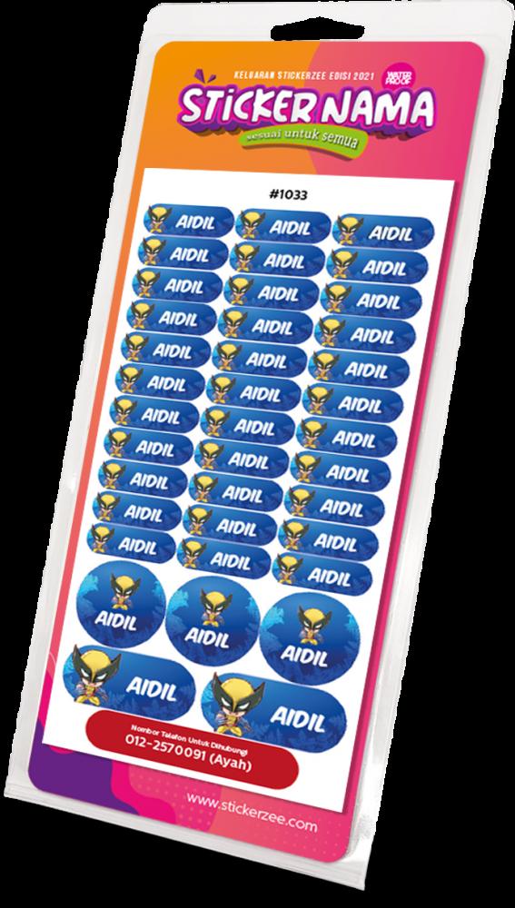 Sticker-Nama-Stickerzee